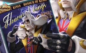 Картинка игра, рука, журнал, перчатка, King Of Glory, Король славы