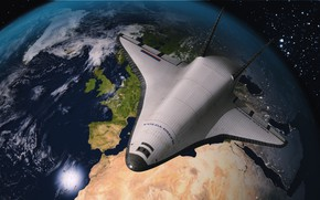 Картинка Будущее, Россия, Космический корабль