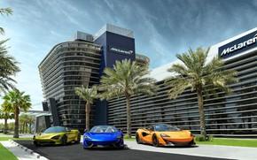Картинка McLaren, суперкары, Spider, Бахрейн, Bahrain, 570S, 720S, 600LT