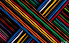 Картинка макро, карандаши, разноцветные, цветные карандаши