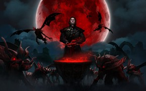 Картинка Вампиры, Gwent, Гвинт, Gwent :The Witcher Card Game, Кровавая Луна, Гвинт: Ведьмак. Карточная Игра, Детлафф …
