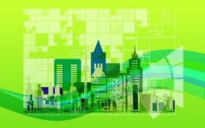 Картинка город, план, архитектура, развитие