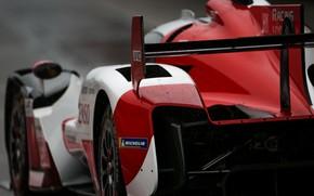 Картинка крыло, спорткар, Toyota, WEC, 4WD, 2021, Gazoo Racing, GR010 Hybrid, 3.5 л., V6 twin turbo