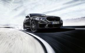 Картинка поворот, BMW, седан, BMW M5, M5, F90, 2019, Edition 35 Years