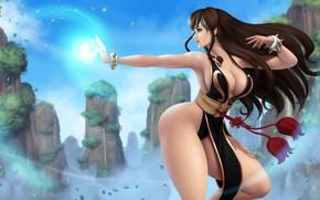 Картинка Girl, Sexy, Art, Street Fighter, Chun-Li, Characters, Game Art, Iury Padilha, Street Fighter: Chun-Li