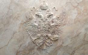 Картинка мрамор, Россия, герб