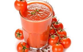 Картинка сок, juice, помидоры, специи, tomatoes
