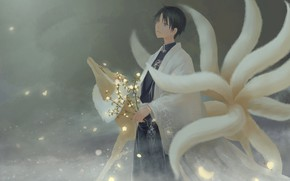 Картинка Kimihiro Watanuki, xxxHOLiC, Mugetsu