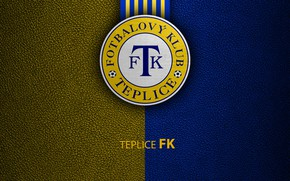 Картинка wallpaper, sport, logo, football, Teplice