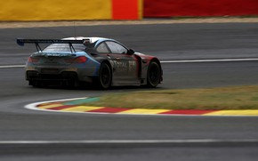 Картинка купе, BMW, трек, задом, 2019, M6 GT3