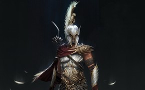 Картинка Assassin's Creed, game, pegasus armour, Odyssey, Assassin's Creed Odyssey, Ubisoft, Alexios