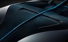 Картинка крыша, Bugatti, суперкар, 2018, гиперкар, Divo