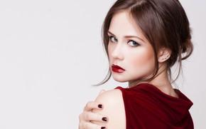 Картинка девушка, модель, портрет, прическа, Elena Kharichkina