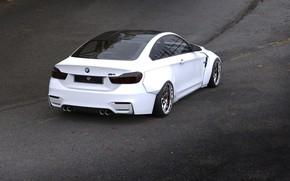 Картинка Авто, Белый, BMW, Машина, Бумер, БМВ, Рендеринг, Rendering, Concept Art, BMW M4, Transport & Vehicles, …