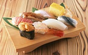 Картинка рыба, суши, роллы, морепродукты