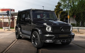 Картинка фото, Mercedes-Benz, Черный, Автомобиль, Inferno, SUV, Manhart, 2019, G-класс, G 700