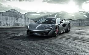 Картинка McLaren, Light, Evening, Sight, Graphite, 570S