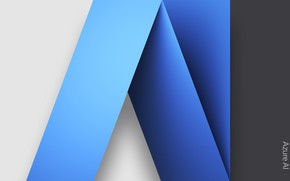 Картинка абстракция, обои, узор, Microsoft, объём, Azure AI