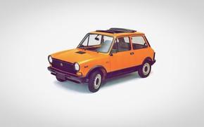 Картинка small car, a112, autobianchi