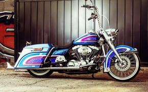 Картинка Harley-Davidson, Bagger, Custom bike