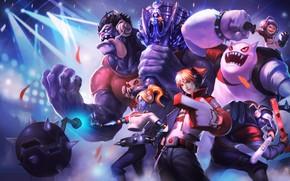 Картинка Лига Легенд, персонажи, League of Legends