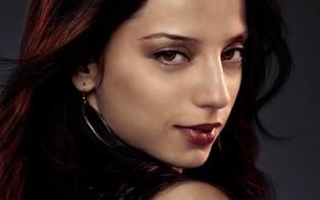 Картинка девушка, фон, вампир, красные глаза, персонаж, Сумерки Сага Рассвет, The Twilight Saga Breaking Dawn - …