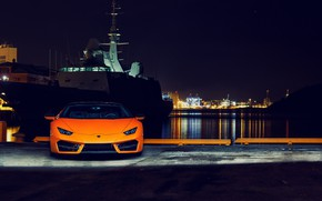 Обои Lamborghini, Huracan, 2016, LP 580-2