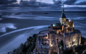 Картинка France, Normandy, Le Mont-Saint-Michel, Avranches