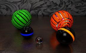 Обои фон, шары, шарики