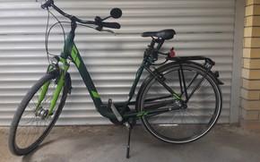 Картинка велосипед, стоит, KTM, Анапа
