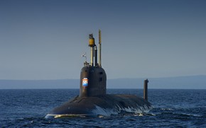 Картинка лодка, подводная, атомная, ясень, северодвинск