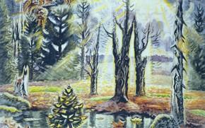 Картинка Charles Ephraim Burchfield, 1938–63, October in the Woods