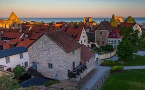 Обои дома, Швеция, Visby, Висбю