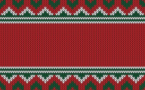 Картинка pattern, фон, зима, вязаный, Christmas, seamles, узор, knitted, colorful, Рождество, background, winter