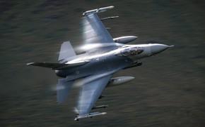 Картинка оружие, самолёт, F-16C