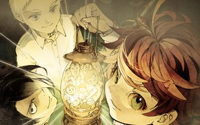 Картинка свет, дети, лампа