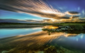 Картинка небо, облака, Ирландия