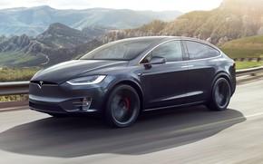 Картинка Tesla, Model X, Electric car