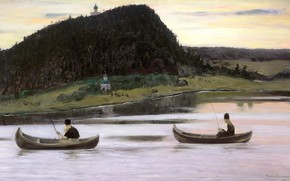 Картинка 1903, Нестеров Михаил Васильевич, Молчание