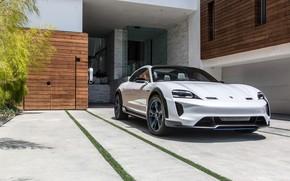 Картинка Porsche, 2018, Mission E, Cross Turismo