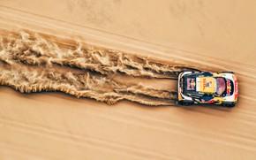 Картинка Red Bull, sand, Rally