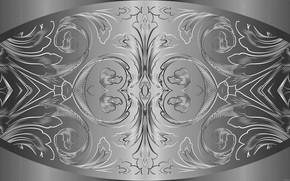 Картинка металл, узор, фигуры