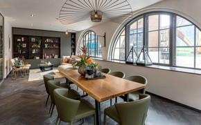 Картинка дизайн, стиль, Лондон, интерьер, гостиная, London, столовая, Surrey, Berkshire