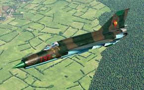 Картинка КБ МиГ, ГДР, МиГ-21бис, Фронтовой истребитель