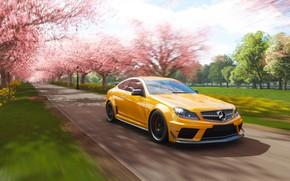 Картинка Mercedes-Benz, Microsoft, game, AMG, Coupe, 2018, C63, Forza Horizon 4