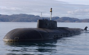 Картинка субмарина, вмф, подводный крейсер, проект 949а