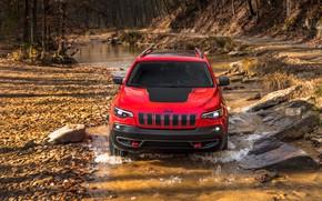 Картинка Car, Jeep, Cherokee, Trailhawk, 2019