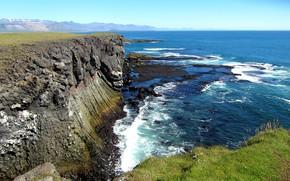 Картинка море, скалы, побережье