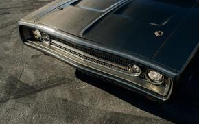 Картинка Карбон, Evolution, 1970, Dodge Charger, Передок Фары, Speedkore, Углепластик