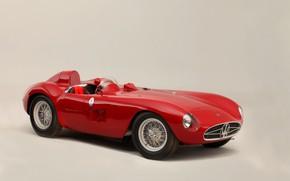 Картинка Maserati, Спицы, Classic, Classic car, 1955, Sports car, Maserati 300S